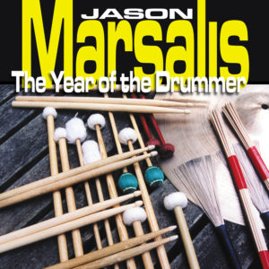 Jason Marsalis - The Year of the Drummer Album Art