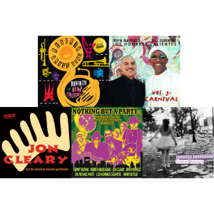 Essential Mardi Gras Collection. Includes Rebirth of New Orleans by Rebirth Brass Band, Volume 5: by Los Hombres Calientes, Jon Cleary & The Monster Gentlemen by Jon Cleary & The Absolute Monster Gentlemen, Nothing But A Party: Basin Street Records Mardi Gras Collection, and Street Parade by Theresa Andersson