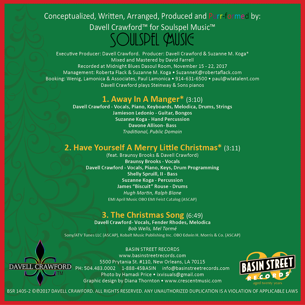 Davell Crawford - Merry Christmas from Davell Crawford (Digital EP)