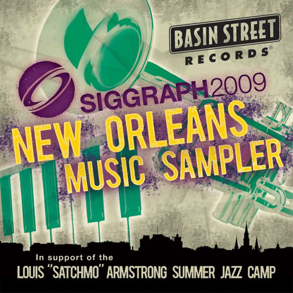 Siggraph 2009 New Orleans Music Sampler Cover