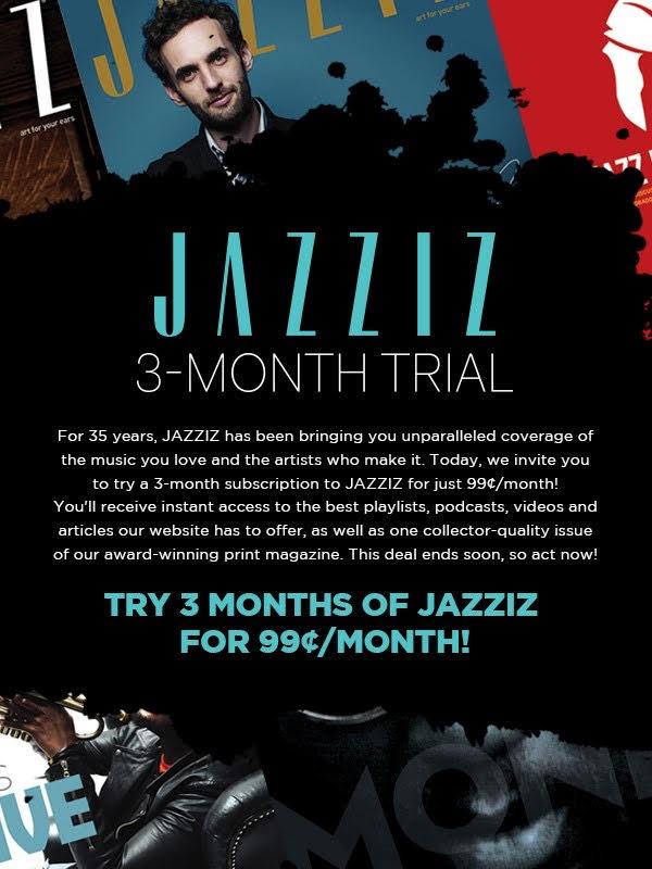 Jazziz 3-month offer